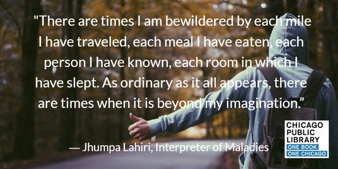 Happy birthday Jhumpa Lahiri, author of our Fall 2006 pick, Interpreter of Maladies!