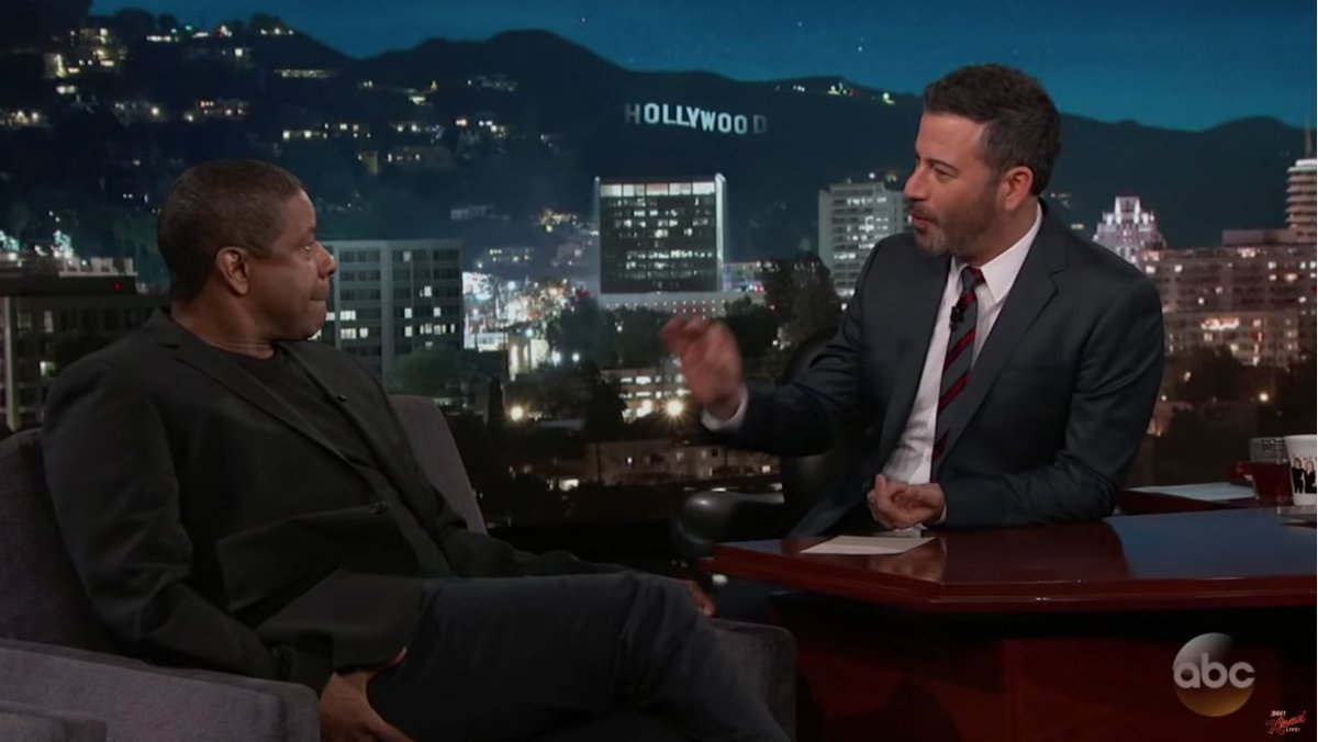 Jimmy Kimmel thanks Denzel Washington for saving Oscars after envelopegate