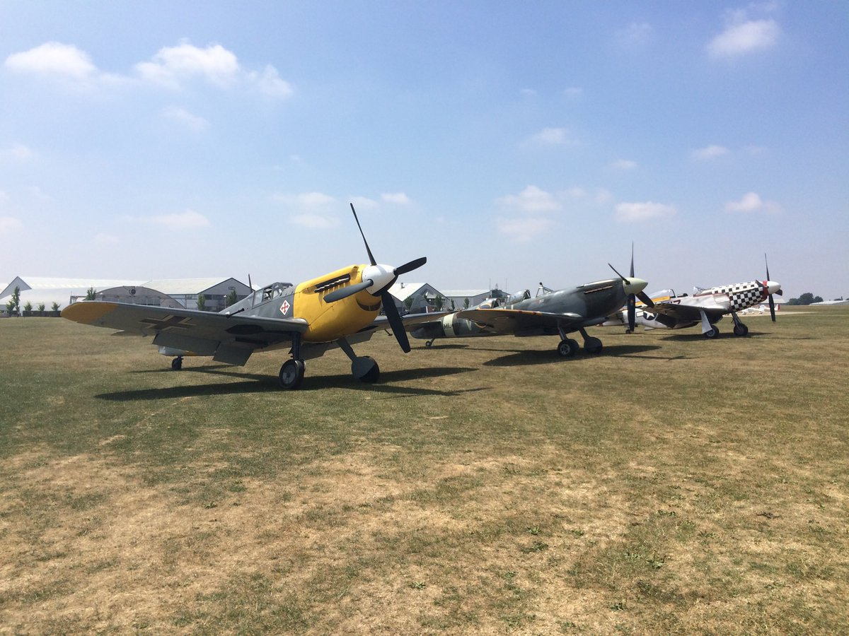 test Twitter Media - ML407 with her latest Hangar companions out ready for flying in the sun at Sywell today She is still the Queen of the Air Leasing Team though. https://t.co/n92ObeSm9G