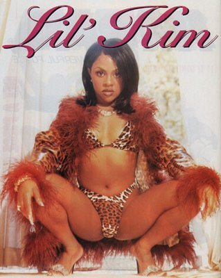 Happy birthday, Lil\ Kim.  This poster was my adolescence, thank you.