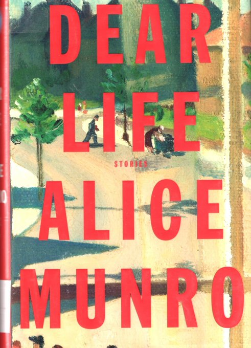 Happy belated 87th Birthday to Canadian writer and Nobel Prize winner, Alice Munro!