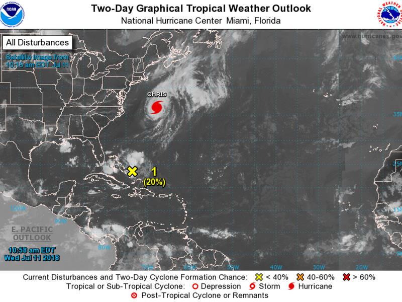 Arlington Weather Map.Nova Weather Forecast Hurricane Chris Churns In Midatlantic Dlvr It