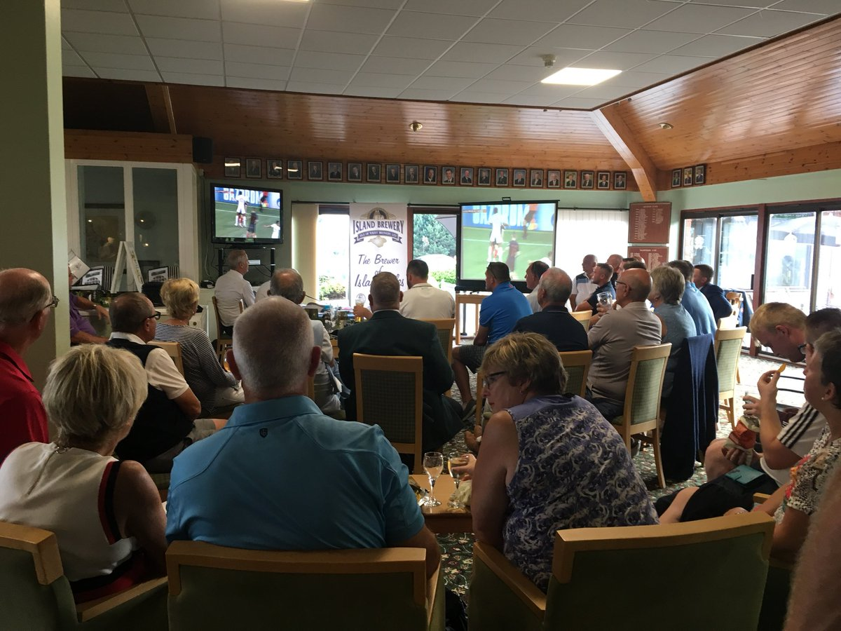 test Twitter Media - Fantastic Pro-Am event followed by the football #Itsnotcominghome https://t.co/Y2hnAotyRO