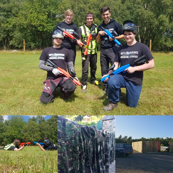 Image for #weekinthelife and we've been soakin up the sun! Summer is in full swing and we even snuck in a bit of #brandnew ⁦@ValkenPaintball⁩ with their brilliant #gotcha paintball shotguns - that's right folks ... We are launching paint balling for 8 years and up!