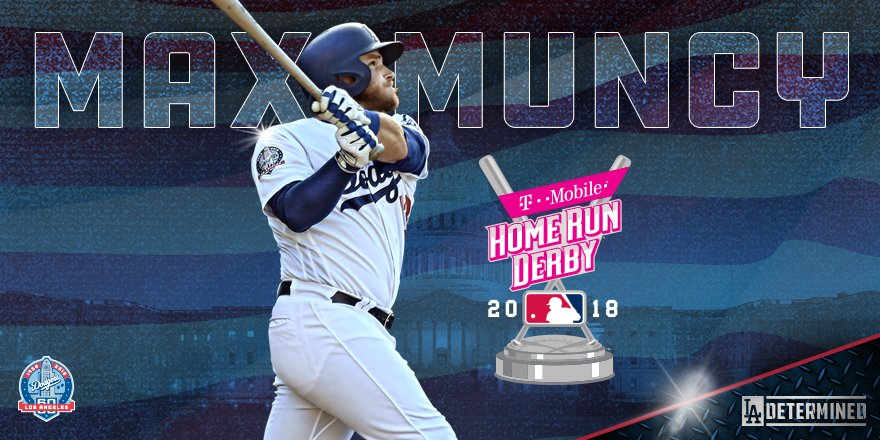 Max power in D.C.!   @maxmuncy9 will compete in this year's Home Run Derby! #Dodgers https://t.co/On0Oh7I6eq