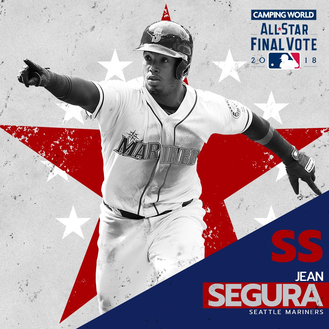You're sending Segura.     @JeanSegura02 wins the @CampingWorld AL #FinalVote! https://t.co/LMHZsRPltb