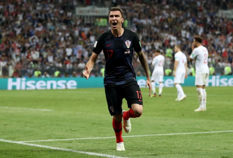 Mandzukic sends irrepressible Croatia into first World Cup final