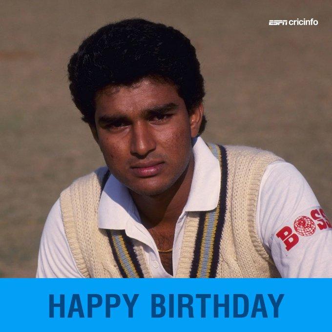 Happy birthday to Sanjay Manjrekar!