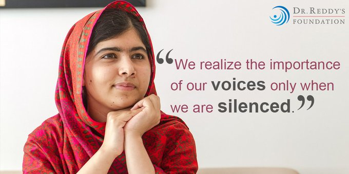Malala Yousafzai, born in 1997. Happy Birthday !