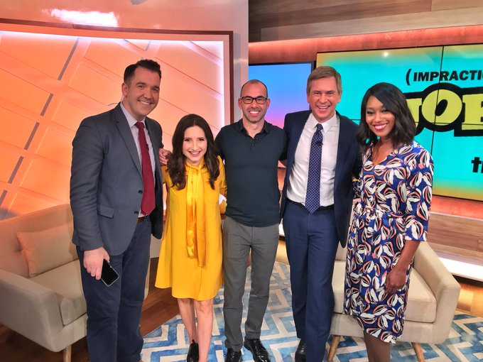 @PatKiernan: RT @JamieStelter: We still smiled for a photo with @truTVjokers? @jamessmurray after he pranked us on #MorningsOn1 https://t.co/641puFsZ22