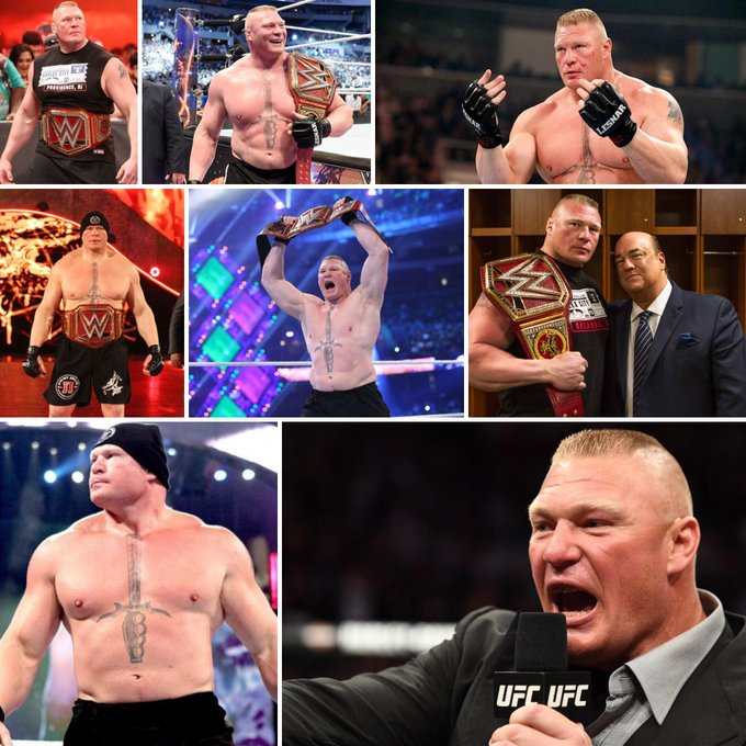 Happy 41st birthday to the reigning  Brock Lesnar