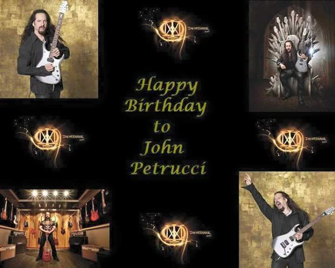 Happy Birthday to John Petrucci of Dream Theater!