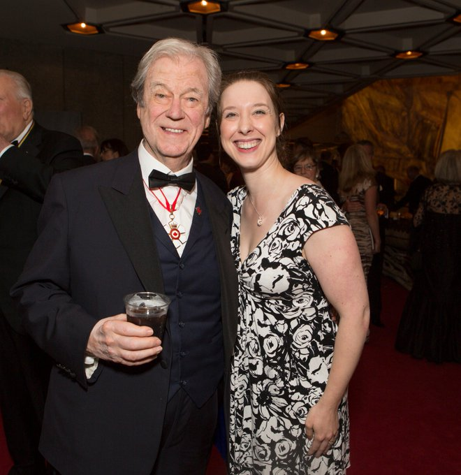 Happy birthday to this delightful man. National treasure Gordon Pinsent is 88 today.  Photo: