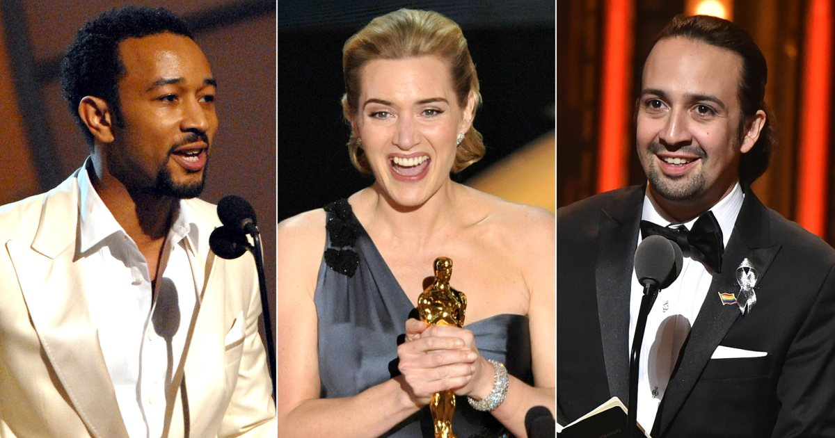 Here are 30 stars who almost have an EGOT: