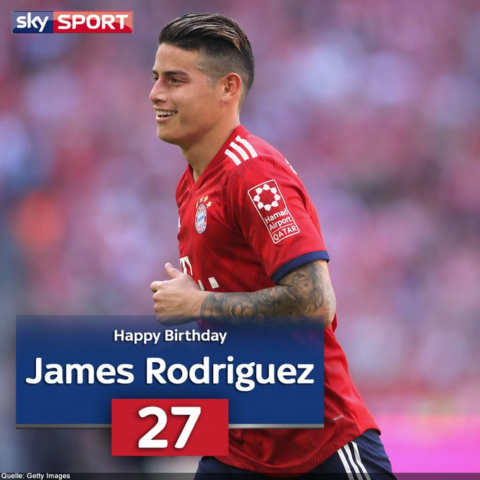 Ist er der beste Linksfuß der Bundesliga? Happy Birthday an James Rodriguez
