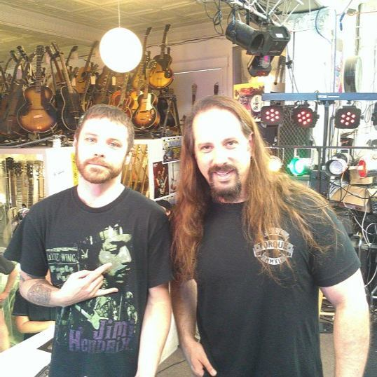 to the time I met John Petrucci. Happy birthday John!