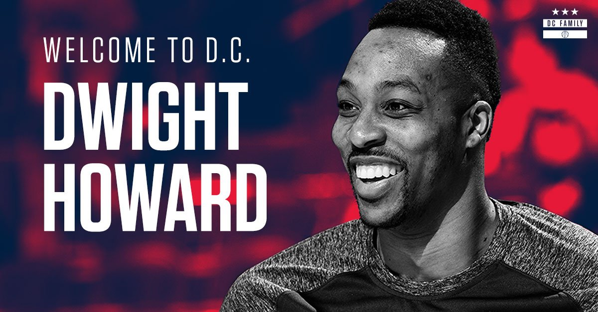 OFFICIAL: We've signed Dwight Howard  Welcome to the #DCFamily, @DwightHoward!  MORE: https://t.co/M1Dv2nT2vM https://t.co/AJnwZnyknG