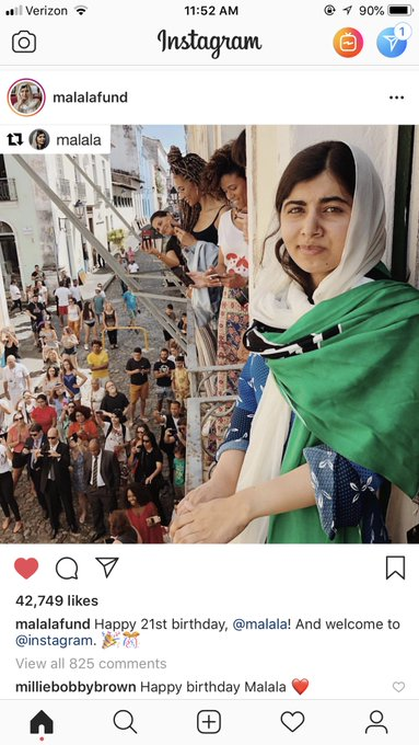 MALALA YOUSAFZAI IS A CANCER!!!! HAPPY BIRTHDAY QUEEN!