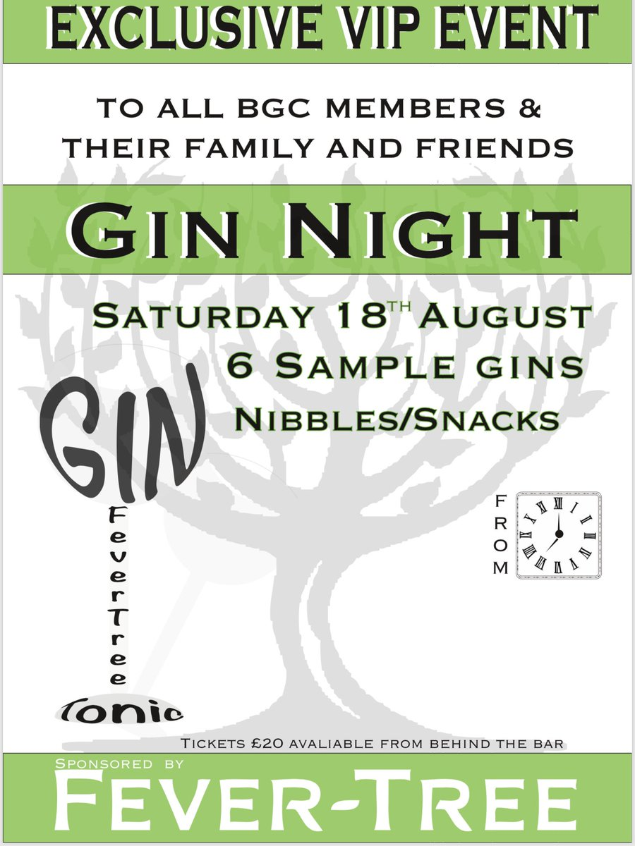 test Twitter Media - BGC gin night!! Open to all, tickets available behind the bar! https://t.co/3ezph6iuYo