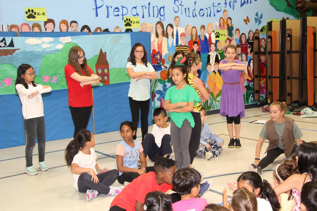 "test Twitter Media - Summer School theater students in gr. 3-5 performed the endearing musical ""Peter  Pan"" on July 12! Students and parents attended, and enjoyed the  production, spearheaded by Jeri Hart. #d30learns https://t.co/lPzTX8lAuZ"