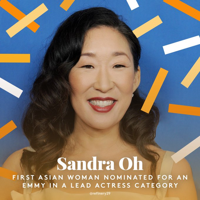 @refinery29: It's about time! ? Congrats, #SandraOh! https://t.co/XzFMzOSMWz