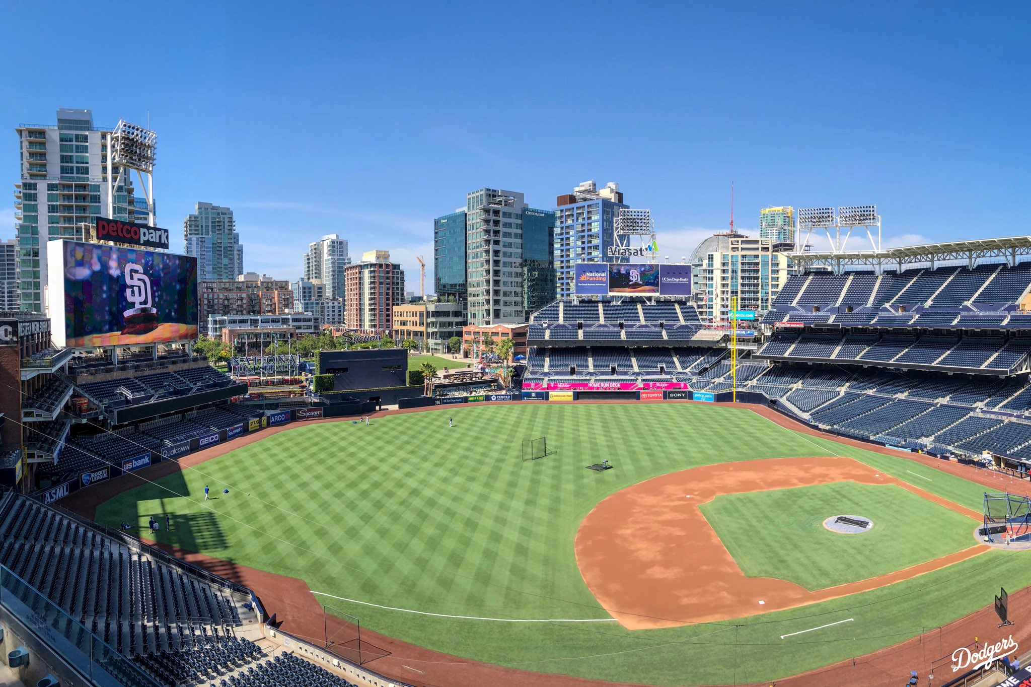 Last day in San Diego, then back home! #Dodgers https://t.co/ETci4ulimM