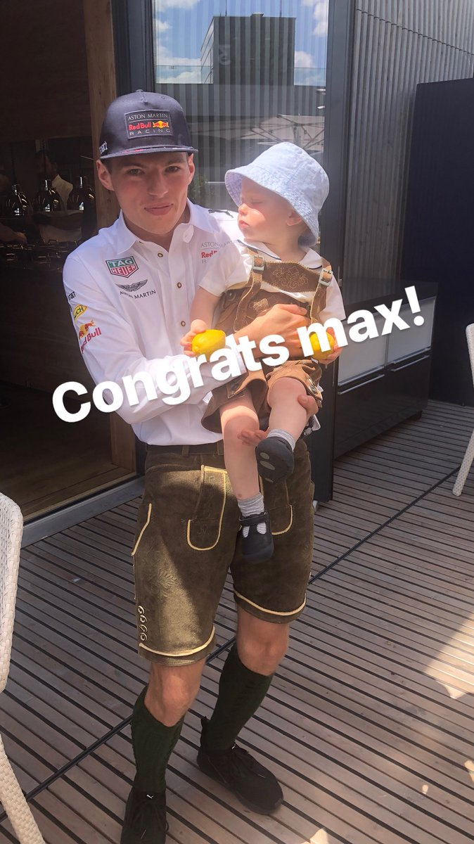Congrats @redbullracing @Max33Verstappen  ???????????????? https://t.co/zb7f73hwLO
