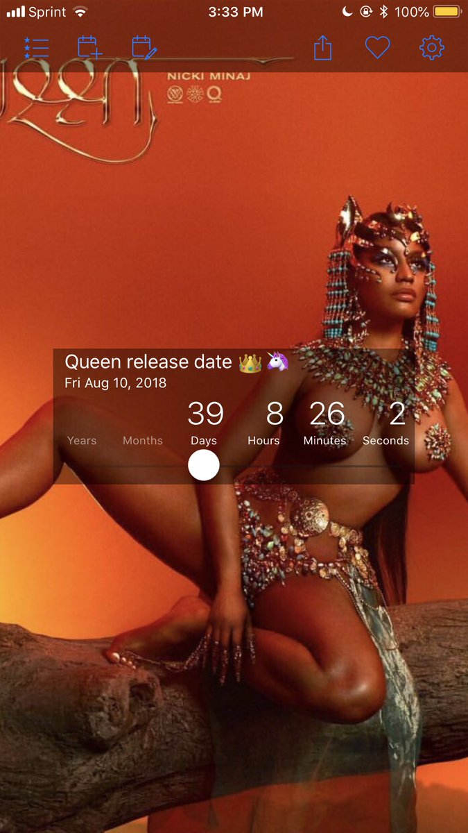 RT @RobertS3_: 39 days ???? #Queen https://t.co/xzv73lxv6x