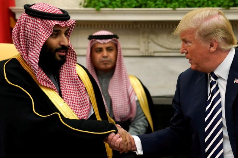 Trump says Saudis must compensate for drop in Iran oil supply