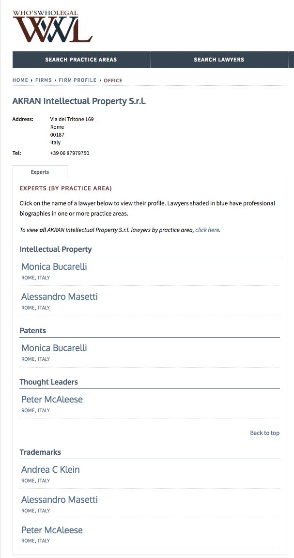 test Twitter Media - We're delighted that our firm has been mentioned in 2018 ranking @whoswholegal and our Monica Bucarelli Alessandro Masetti Peter McAleese and Andrea Carlo Klein ranked as suggested professional.  https://t.co/dRVKqBpITp https://t.co/bmKd59Ji3a