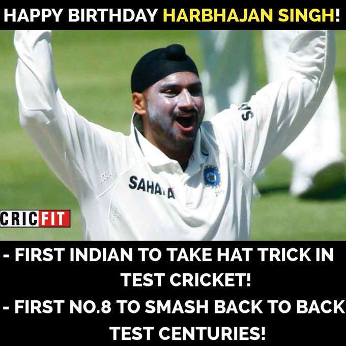 Happy Birthday Harbhajan Singh!!