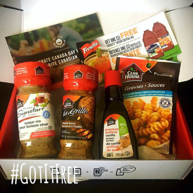 Enjoying the #HelloFlavour voxbox from ! I received it #complimentary to review. #KeepItCanadian
