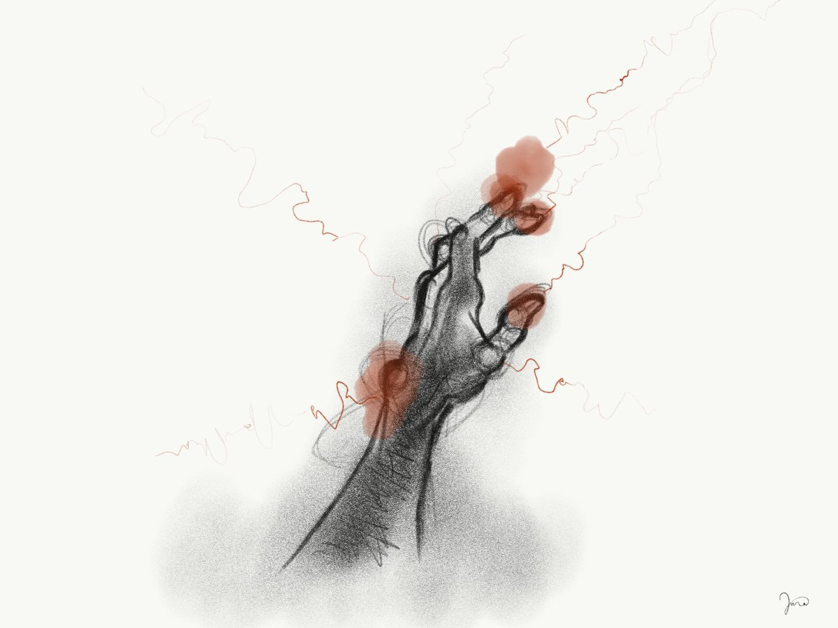 RT @visualcondyle: Fissure // late night sketch from an interesting dream.. #art #wip #sketch #digitalart #drawing https://t.co/FWrsc7VVPC