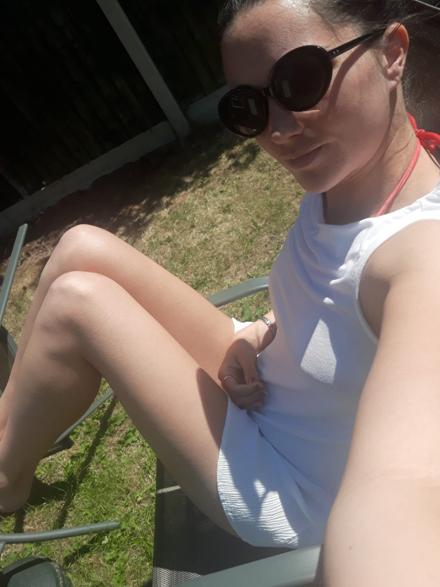 1 pic. Sunbathing in my England bikini before going too the pub ! Come on England!!! Xxx /