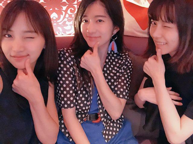 島崎遥香 永尾まりや 竹内美宥の9期の3人が久しぶりに揃う! YouTube動画>2本 ->画像>10枚