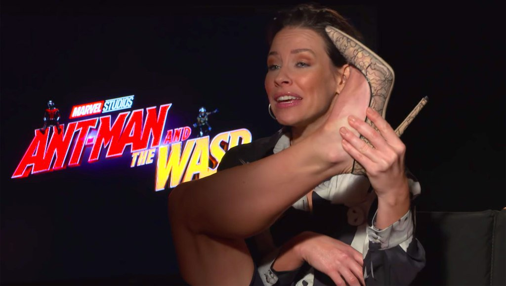 Evangeline Lilly is calling out male Marvel actors for complaining about their suits