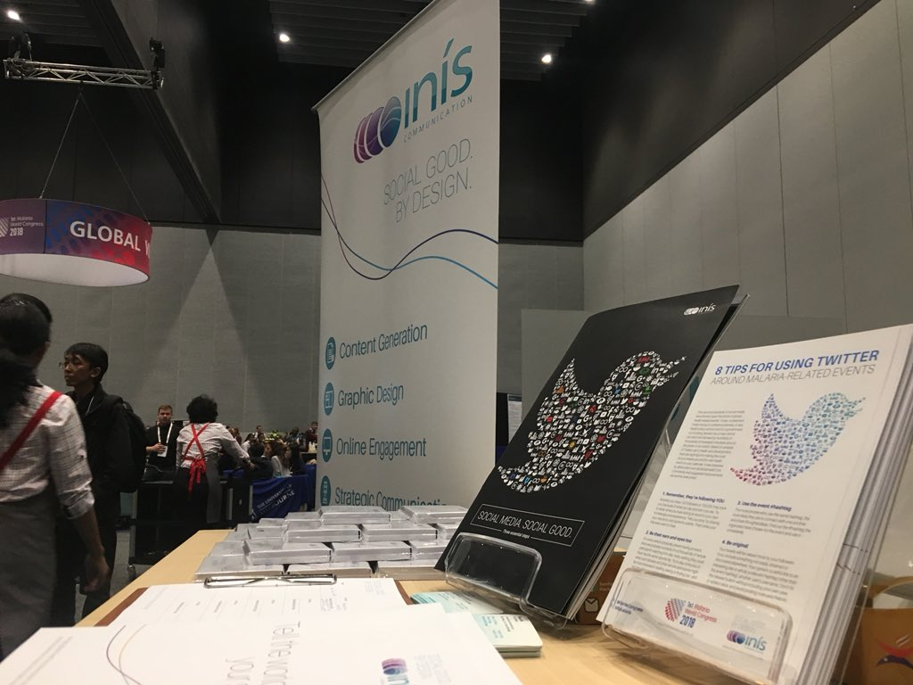 test Twitter Media - Need help telling your donors, partners and community how you plan on ending malaria by 2030? Come and say hi at Global Village, MCEC. We want to share our marking tips with you. #EndMalaria #MalariaCongress #iniscom #MCEC https://t.co/jemlDGmvjI
