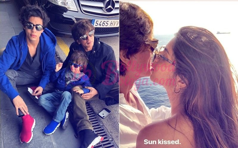test Twitter Media - Shahrukh Khan With Children chill in Barcelona, Shares #Suhana's Sunkissed Picture Shah Rukh Khan with family is enjoying vacation at B... #GausriKhan #SRK #BollywoodBolega https://t.co/TCBfMEVlfe https://t.co/ZX7k2658hP