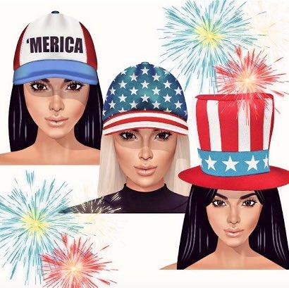RT @theholykardash: Happy 4th of July to my fellow American friends! https://t.co/QxqxYpW8NI