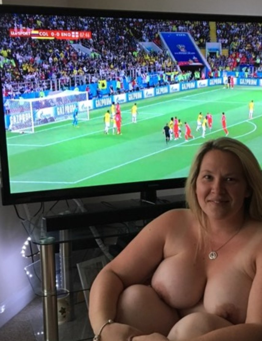 big tit'd blonde and the world cup! what more could you want!! M7qJSZ8fgu