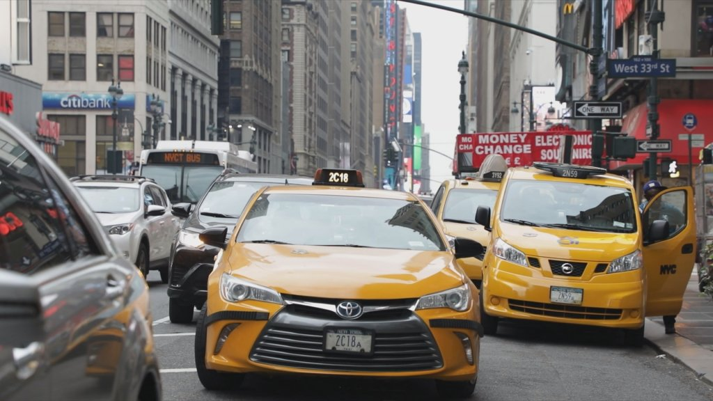 INSIDE THE AMERICAS - Uber vs yellow cabs: A living nightmare for New York taxi drivers