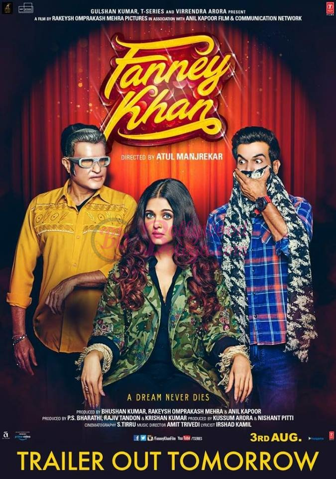 test Twitter Media - Trailer out tomorrow… New poster of Stars Anil Kapoor, Aishwarya Rai Bachchan and Rajkummar Rao… Atul Manjrekar ...  #BollywoodBolega https://t.co/PvGqfyO0OA https://t.co/Zf9zyK8kA6