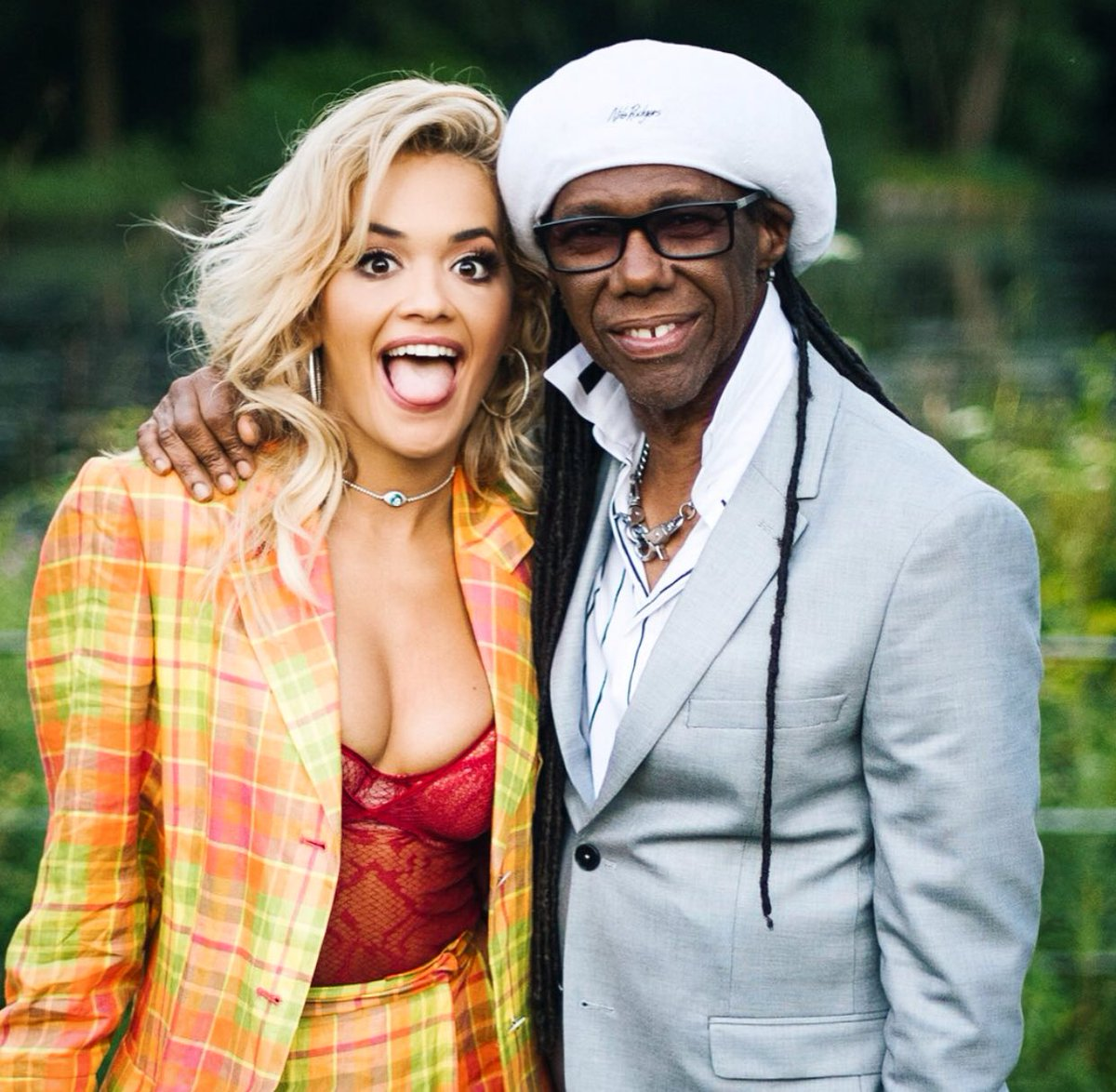 Also this happened. Thank you for blessing us with your timeless music @nilerodgers ???????????? https://t.co/1DlOlWz0yo