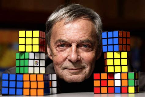 Happy birthday Erno Rubik inventor of the \Cube\. I used to take it apart and re-assemble it so all sides matched.