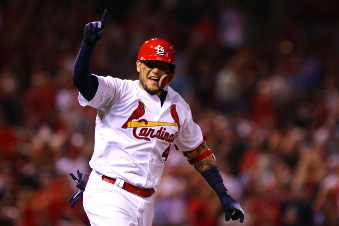 Join us in wishing a Happy 36th Birthday to catcher, Yadier Molina!