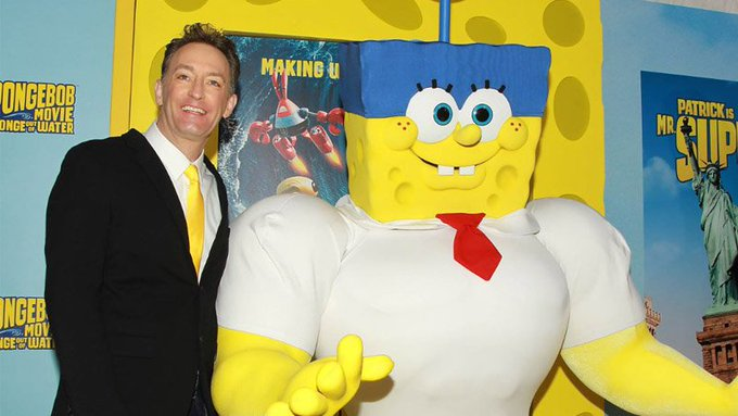 Happy Birthday to himself, Tom Kenny!