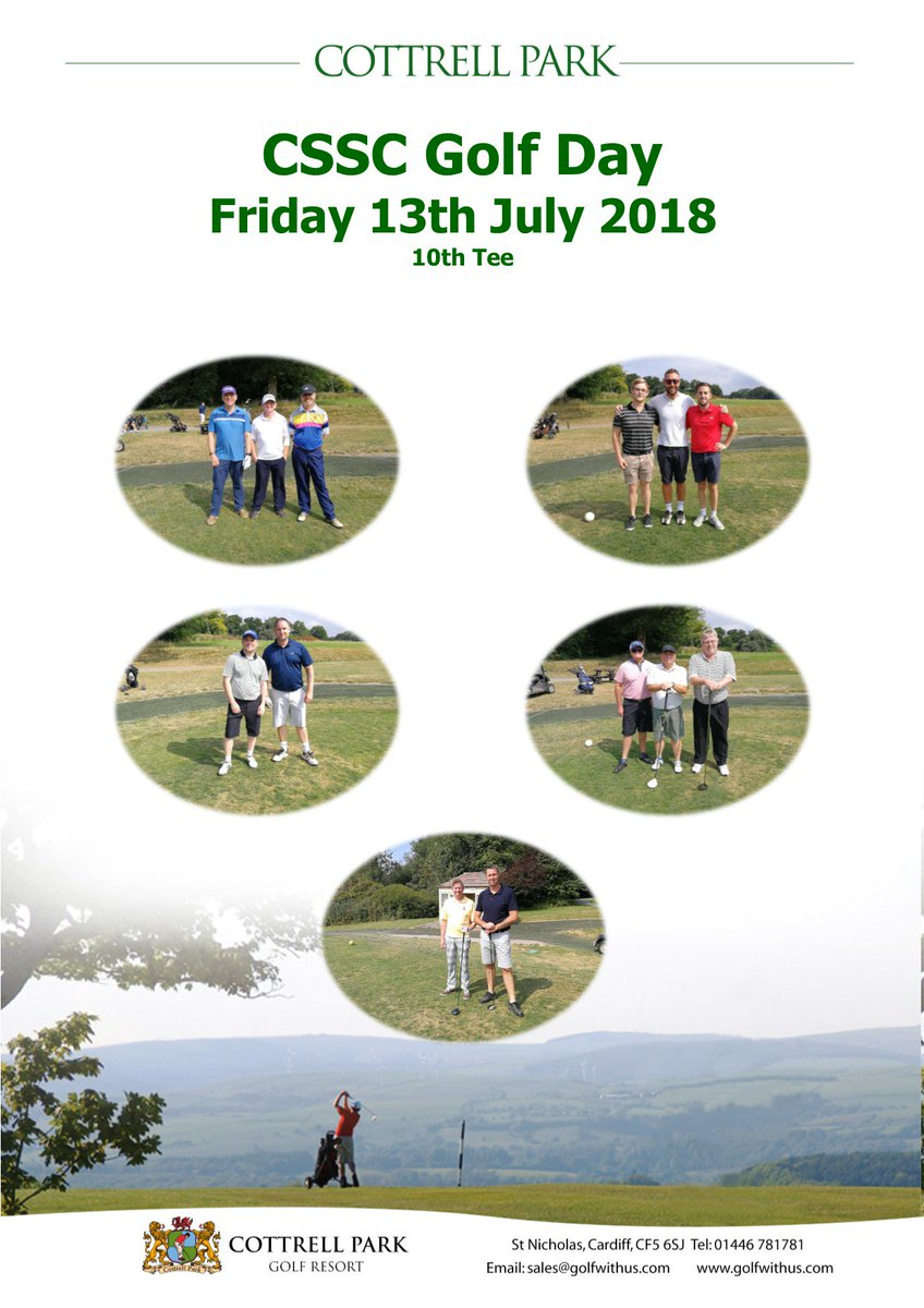 test Twitter Media - Today we've had over 92 Players taking part in CSSC Welsh Regions Golf Day⛳  We hope you've had a wonderful day with us and hope to see you the same time next year. https://t.co/2rQfiyWwzW