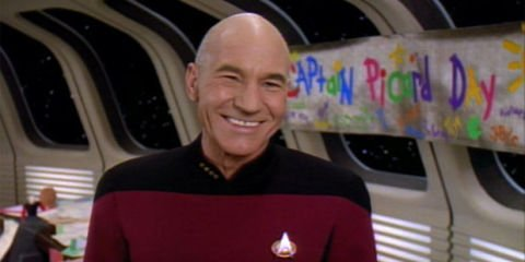 Hailing on all frequencies, Happy 77th Birthday Sir Patrick Stewart