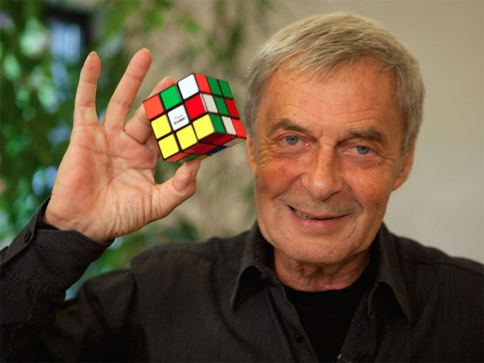 Happy birthday to Erno Rubik, inventor of the Rubik\s Cube!