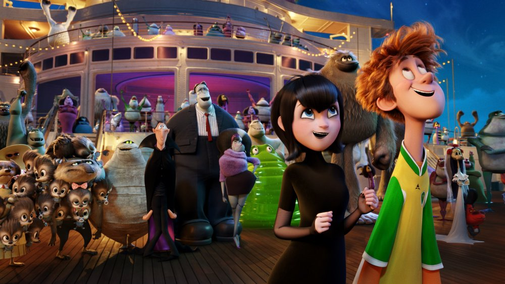 HotelTransylvania3 climbed past Skyscraper at the Thursday box office